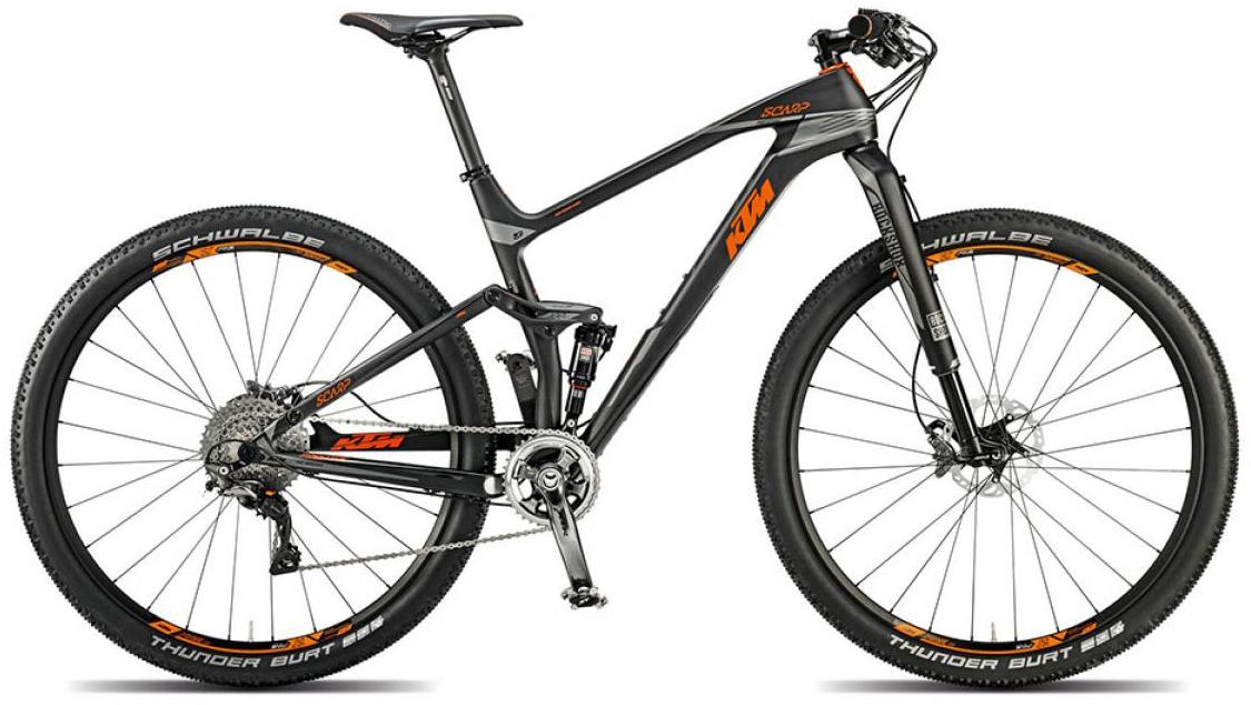 Велосипед горный KTM Scarp 29 Prestige 11s 2015, двухподвесный, цвет: черный, рама 17, колесо 29251181