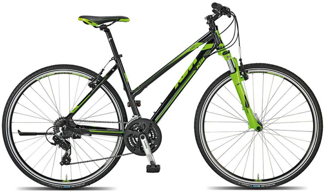 Велосипед женский KTM Life one 2015, цвет: черный, рама 17, колесо 28251191