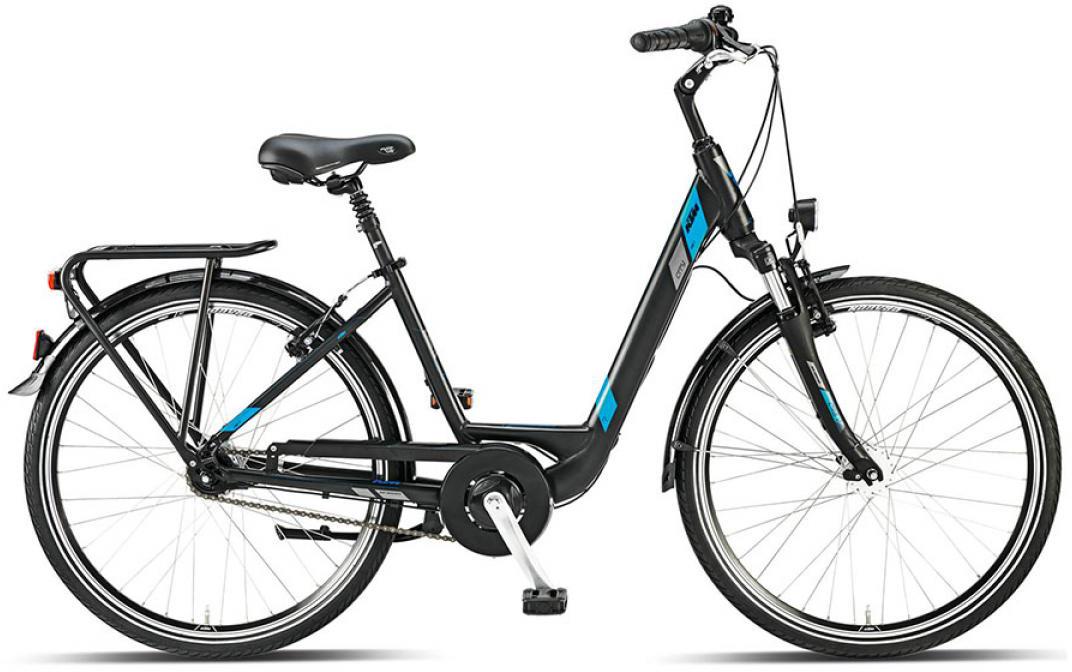 Велосипед женский KTM City Line 7 26 2015, цвет: черный, рама 17, колесо 26251207
