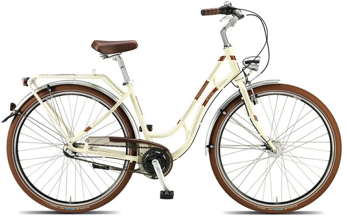 Велосипед женский KTM Tourella 3 28 2015, цвет: белый, рама 18, колесо 28251219