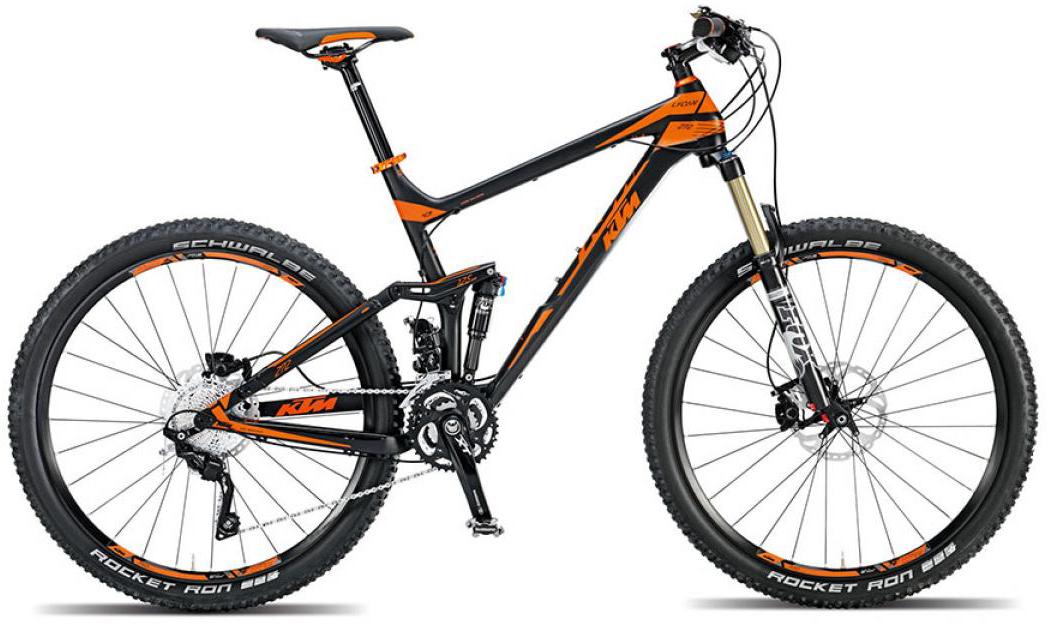 Велосипед горный KTM Lycan 272 2015, двухподвесный, цвет: черный, рама 21, колесо 27,5251222
