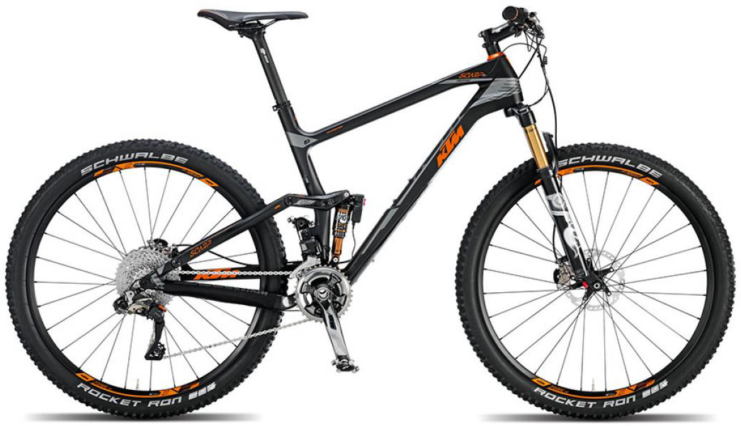 Велосипед горный KTM Scarp 27 Prestige 22s Di2 2015, двухподвесный, цвет: черный, рама 21, колесо 27,5251227