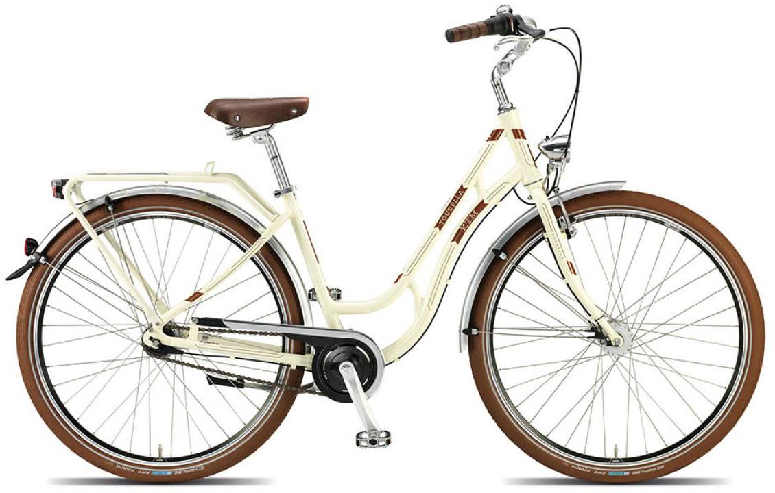 Велосипед женский KTM Tourella 7 28 2015, цвет: белый, рама 20, колесо 28251236