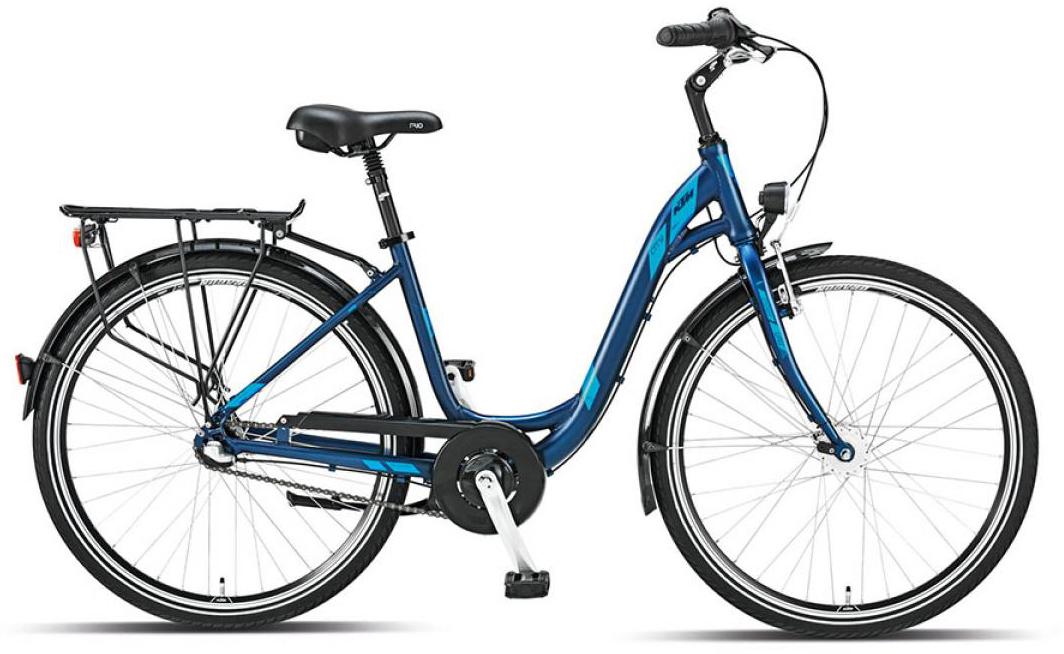 Велосипед женский KTM City fun 3 26 2015, цвет: синий, рама 17, колесо 26251249