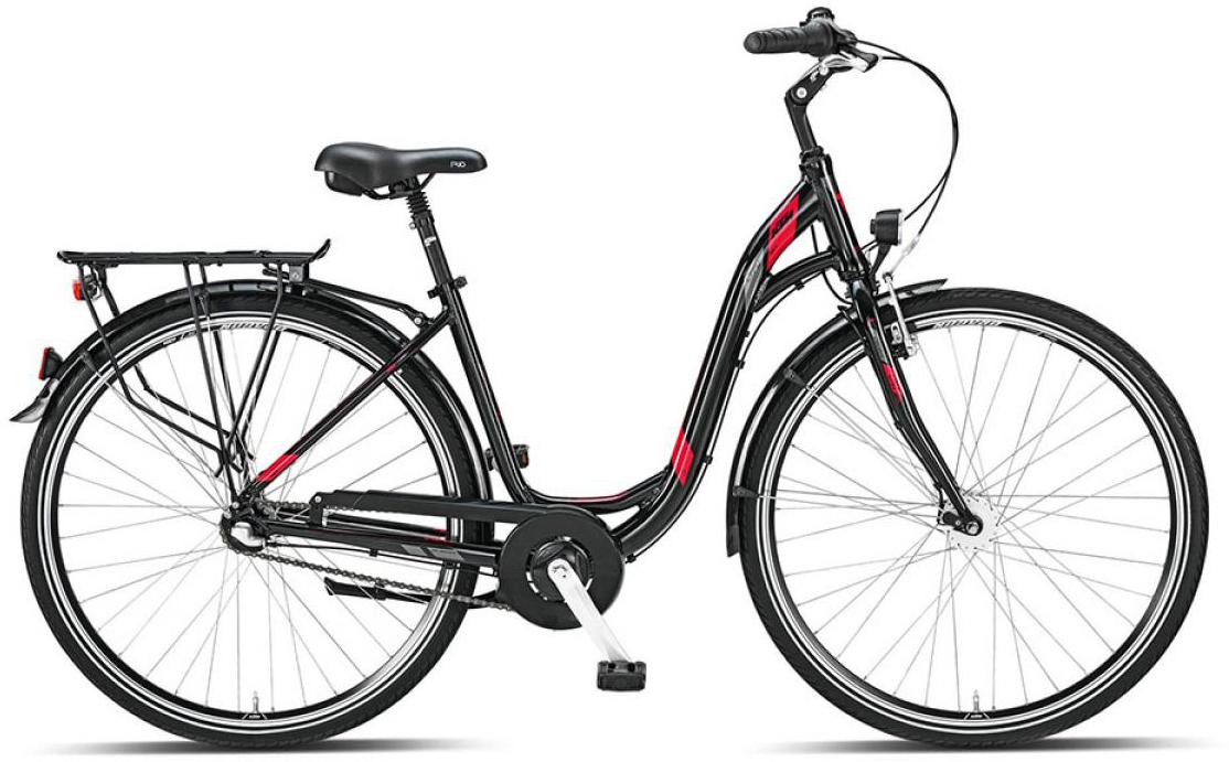 Велосипед женский KTM City fun 3 28 2015, цвет: черный, рама 20, колесо 28251251