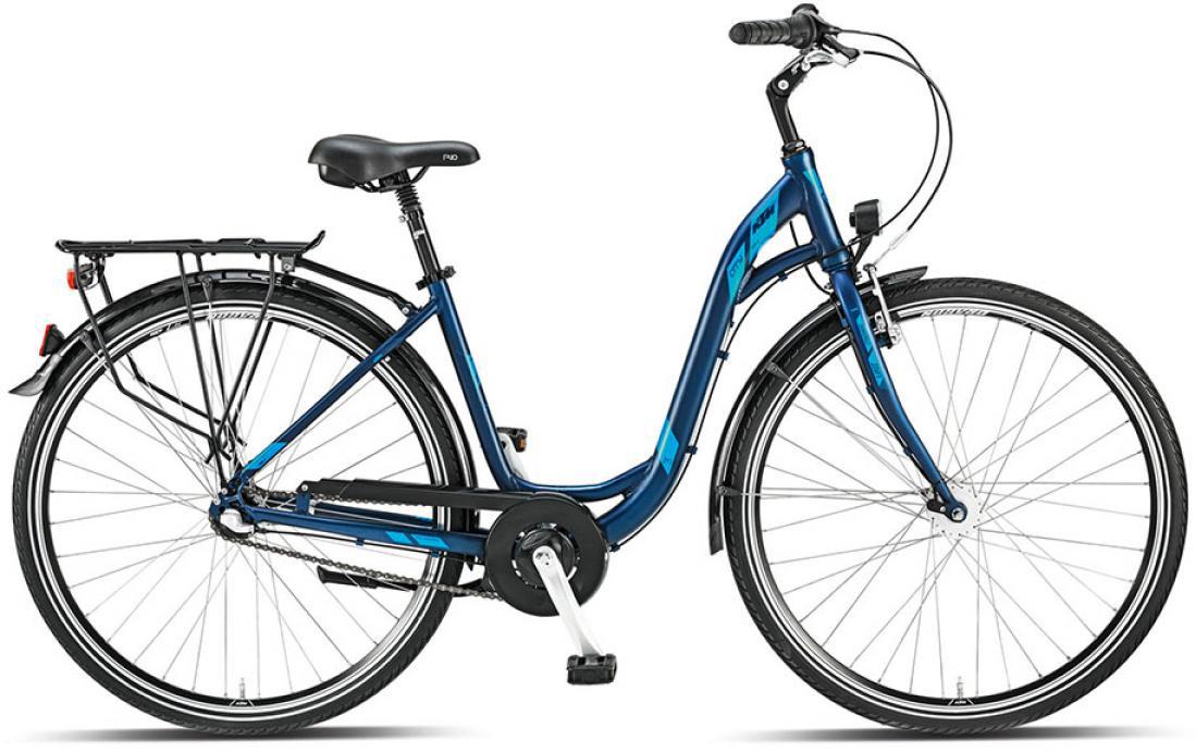Велосипед женский KTM City fun 3 28 2015, цвет: синий, рама 17, колесо 28251252