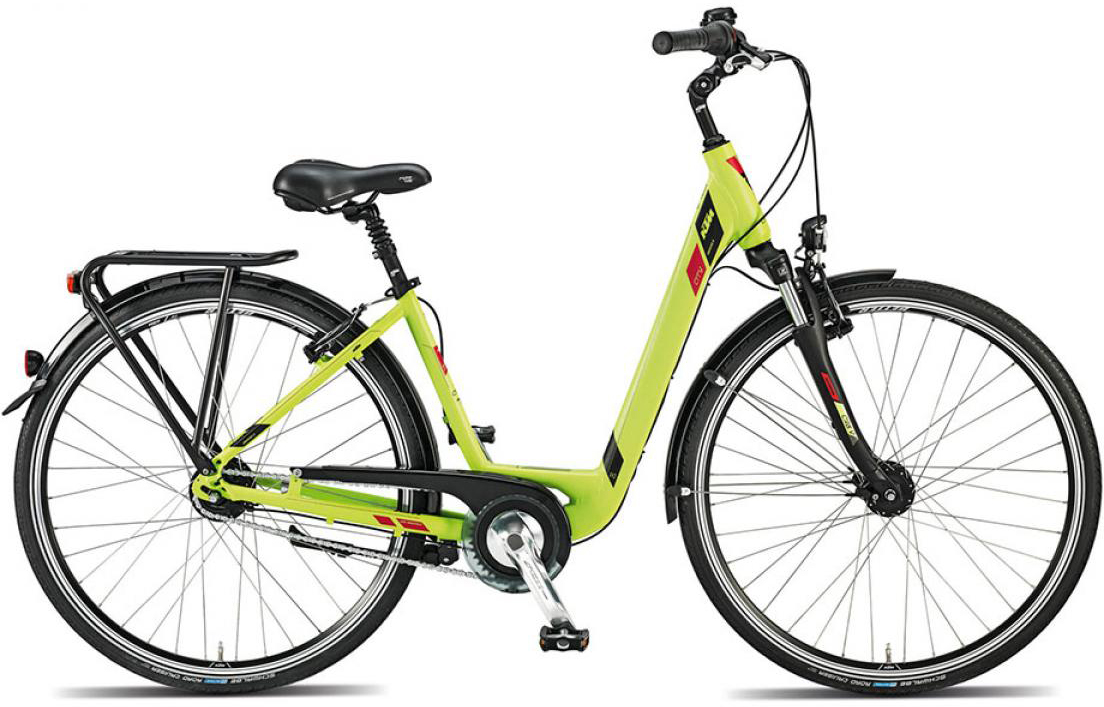 Велосипед женский KTM City Univers 8 28 2015, цвет: зеленый, рама 22, колесо 28251286