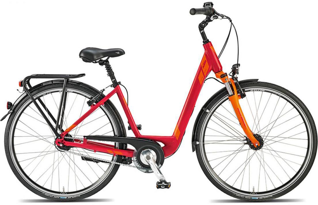 Велосипед женский KTM City Univers 8 28 2015, цвет: красный, рама 18, колесо 28251287