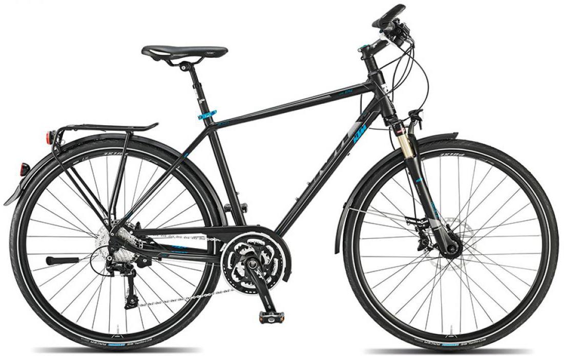 Велосипед городской KTM Llife style 2015, цвет: черный, рама 22, колесо 28251292