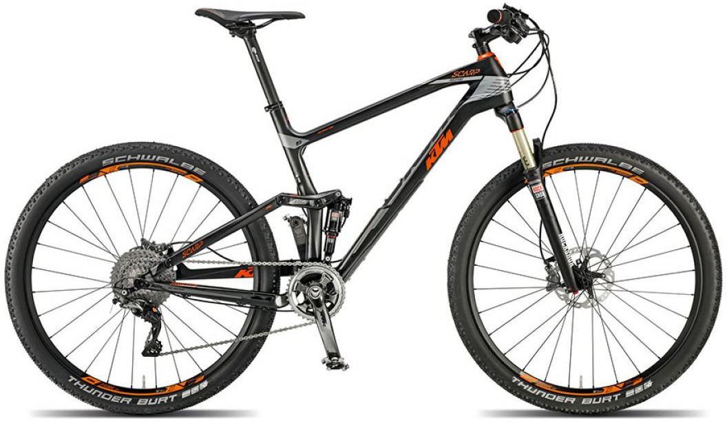 Велосипед горный KTM Scarp 27 Prestige 11s 2015, двухподвесный, цвет: черный, рама 21, колесо 27,5251307