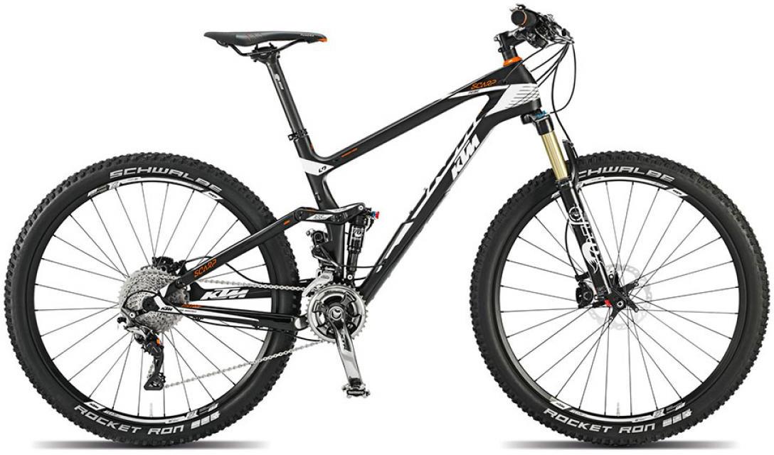 Велосипед горный KTM Scarp 27 Prime 2015, двухподвесный, цвет: черный, рама 17, колесо 27,5251310