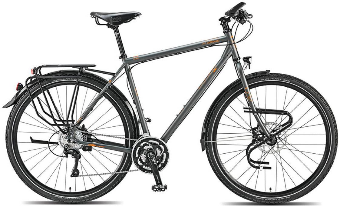 Велосипед городской KTM Life Lontano XT 29 2015, цвет: серый, рама 22, колесо 28251311