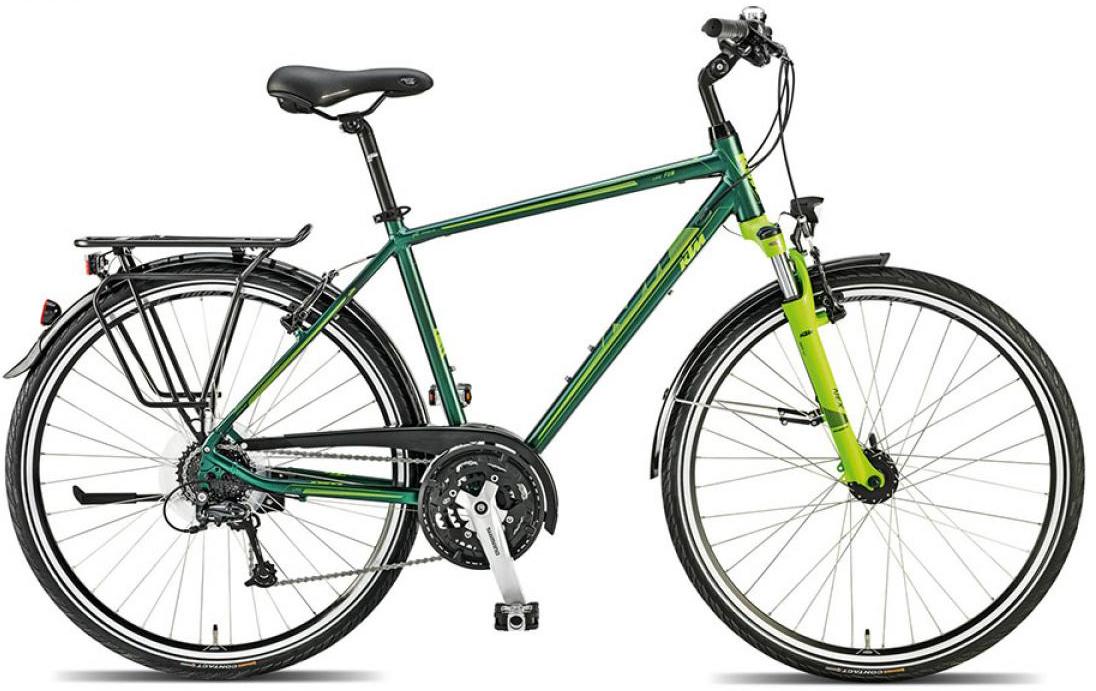 Велосипед городской KTM Llife fun 2015, цвет: зеленый, рама 23,5, колесо 28251318