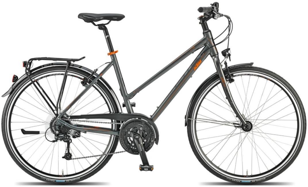 Велосипед женский KTM Life Lite 2015, цвет: серый, рама 20, колесо 28251321
