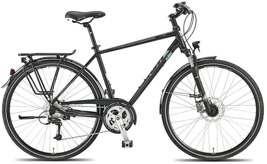 Велосипед городской KTM Llife space 2015, цвет: черный, рама 22, колесо 28251329
