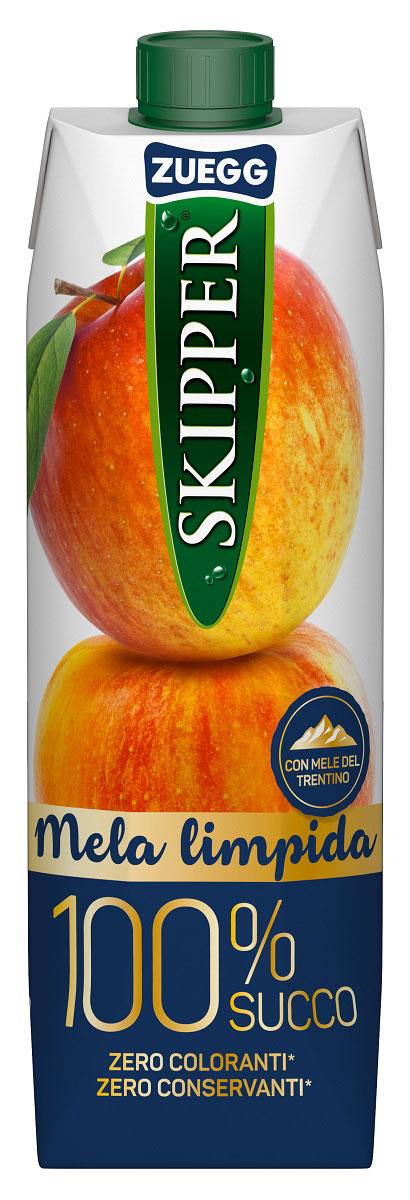 Zuegg Skipper Яблоко сок, 1 л добрый сок яблоко персик 0 2 л