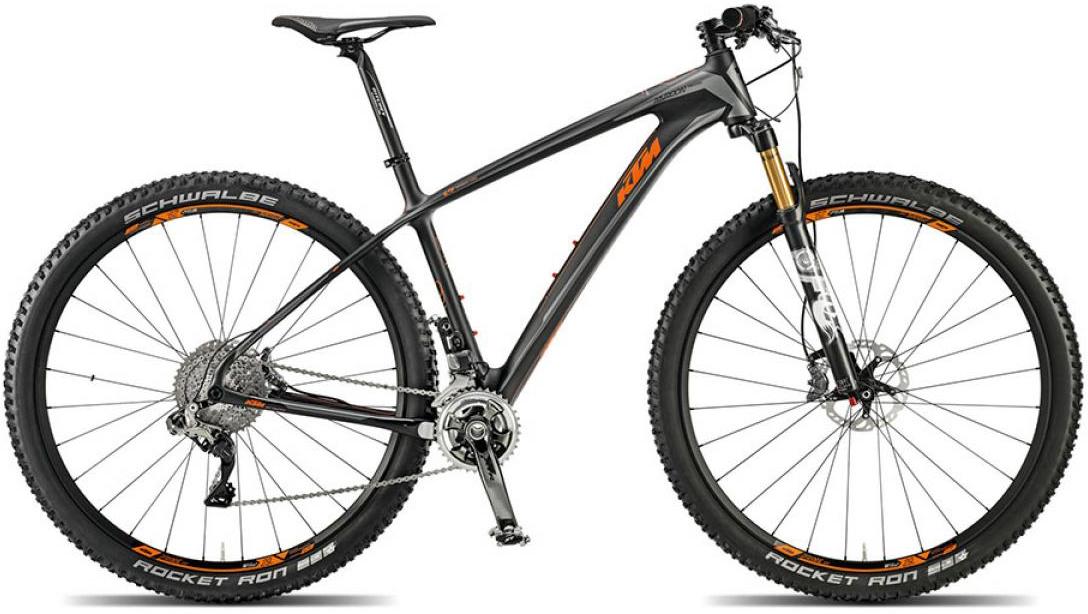 Велосипед горный KTM Myroon 29 Prestige 22s Di2 2015, цвет: черный, рама 21, колесо 29251332