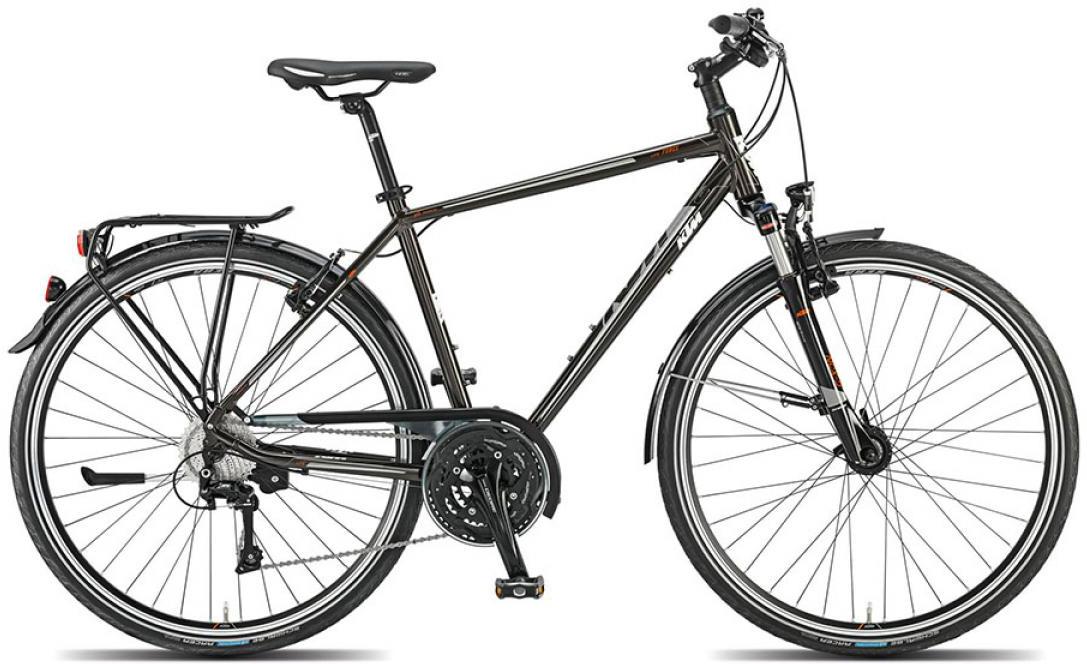 Велосипед городской KTM Llife force 2015, цвет: черный, рама 20, колесо 28251333