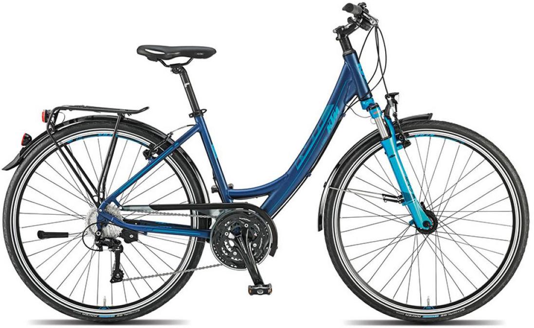 Велосипед женский KTM Life force 2015, цвет: синий, рама 20, колесо 28251337