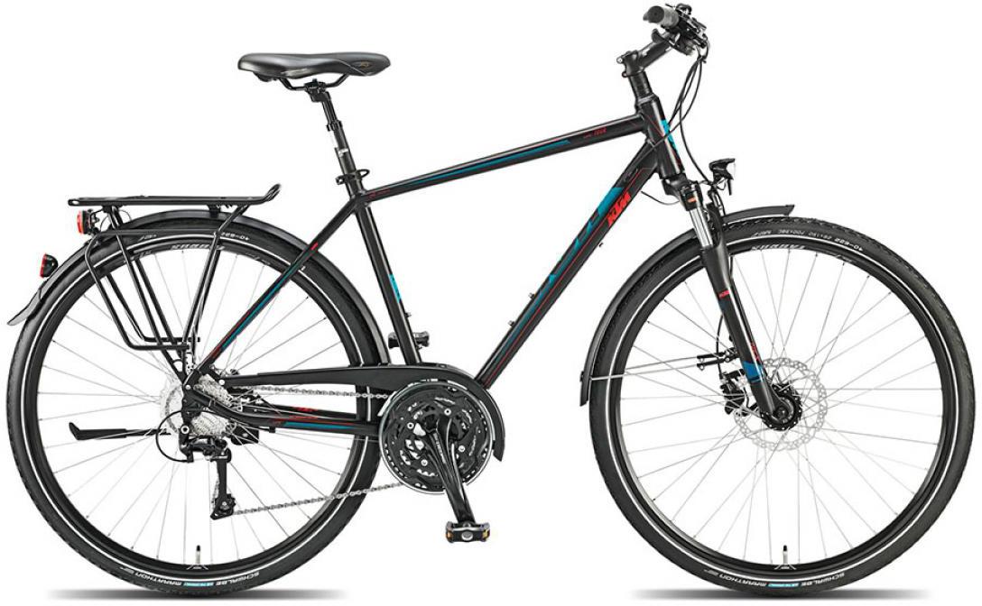 Велосипед городской KTM Llife tour 2015, цвет: черный, рама 23,5, колесо 28251342