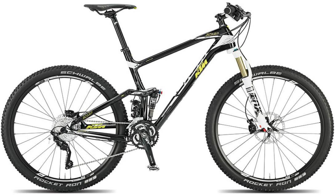 Велосипед горный KTM Scarp 27 Master 2015, двухподвесный, цвет: черный, рама 19, колесо 27,5251344