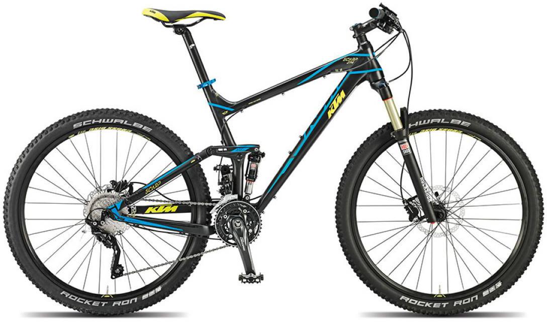 Велосипед горный KTM Scarp 274 2015, двухподвесный, цвет: черный, рама 21, колесо 27,5251354