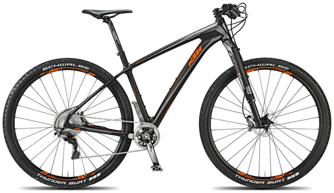 Велосипед горный KTM Myroon 29 Prestige 11s 2015, цвет: черный, рама 17, колесо 29251355