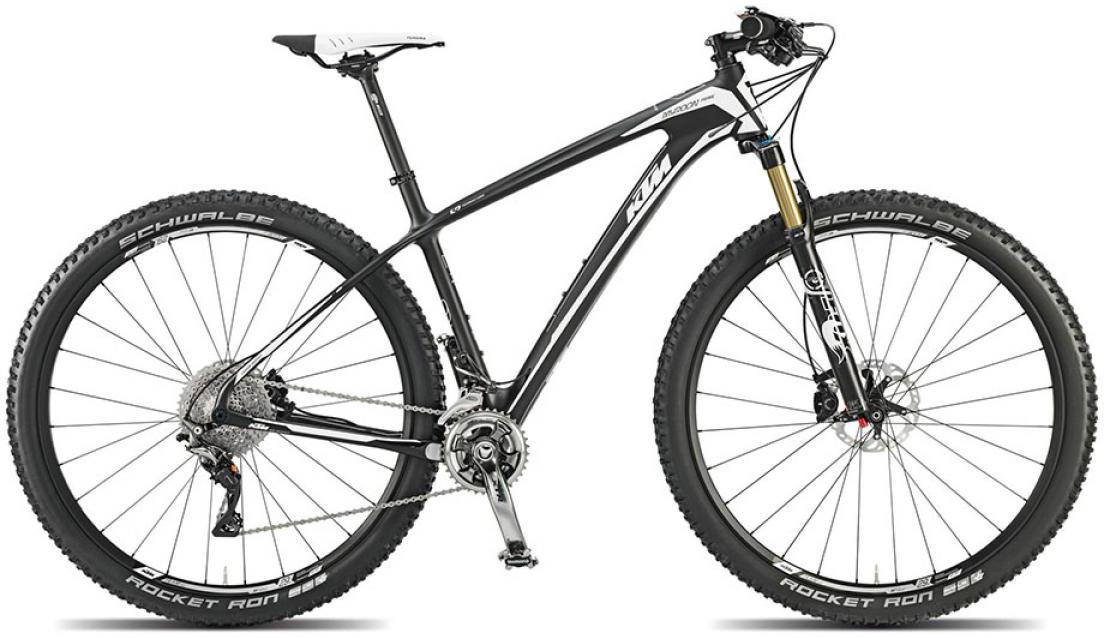 Велосипед горный KTM Myroon 29 Prime 22s 2015, цвет: черный, рама 17, колесо 29251358