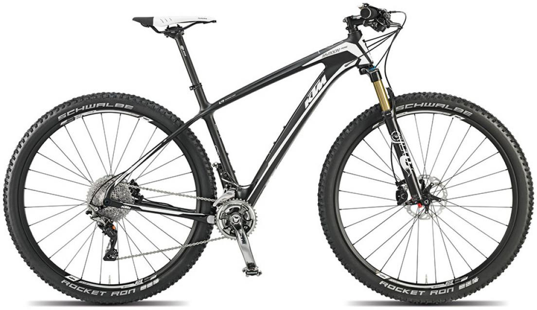 Велосипед горный KTM Myroon 29 Prime 22s 2015, цвет: черный, рама 19, колесо 29251359