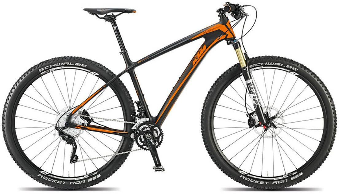 Велосипед горный KTM Myroon 29 Master 2015, цвет: черный, рама 19, колесо 29251365