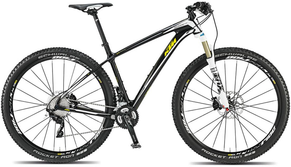 Велосипед горный KTM Myroon 29 Elite 2015, цвет: черный, рама 21, колесо 29251369
