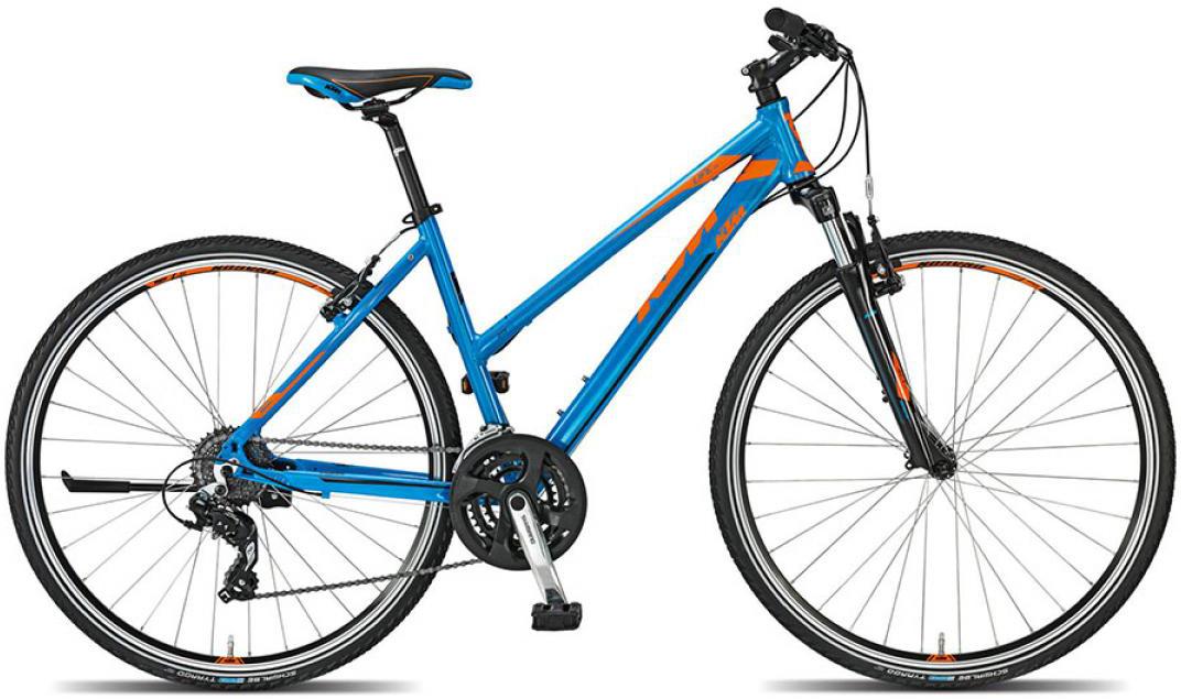 Велосипед женский KTM Life one 2015, цвет: синий, рама 17, колесо 28251377