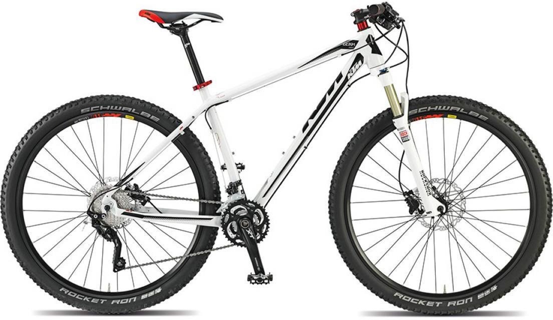 Велосипед горный KTM Ultra Force 29 2015, цвет: белый, рама 17, колесо 29251398