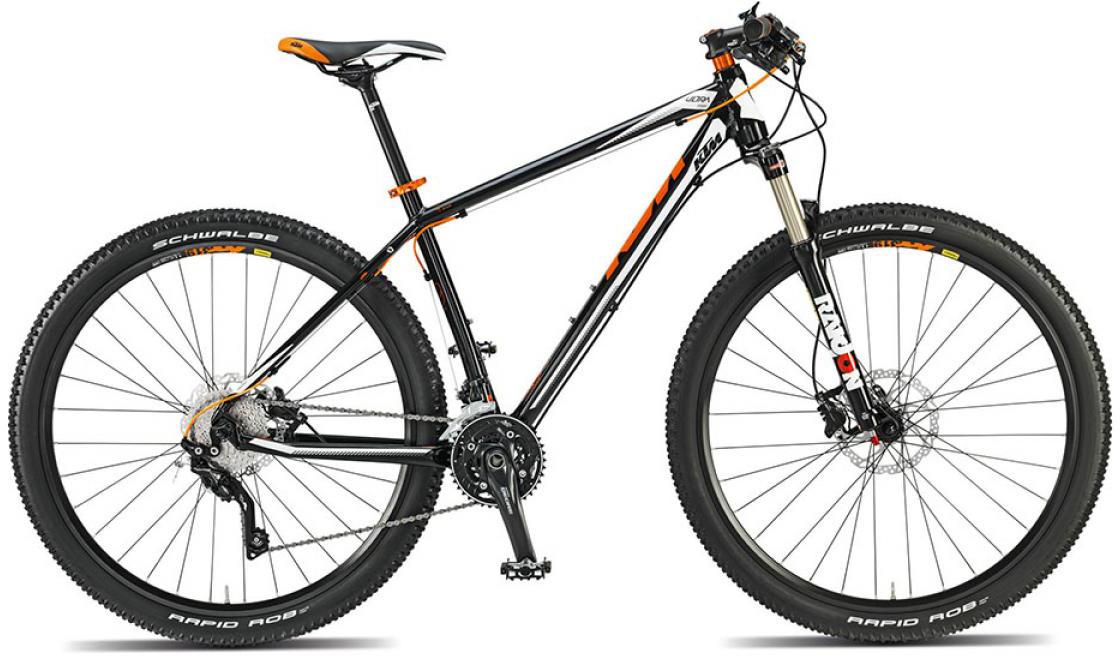 Велосипед горный KTM Ultra Sport 29 2015, цвет: черный, рама 21, колесо 29251407