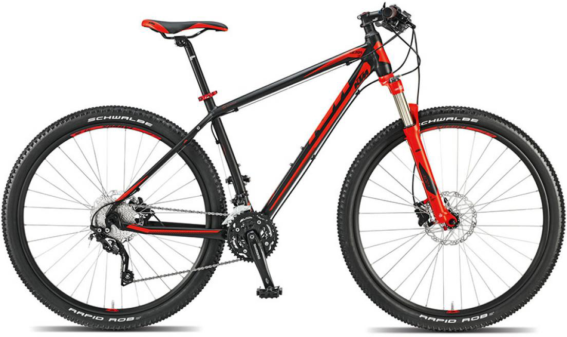 Велосипед горный KTM Ultra Fire 29 2015, цвет: красный, рама 19, колесо 29251416