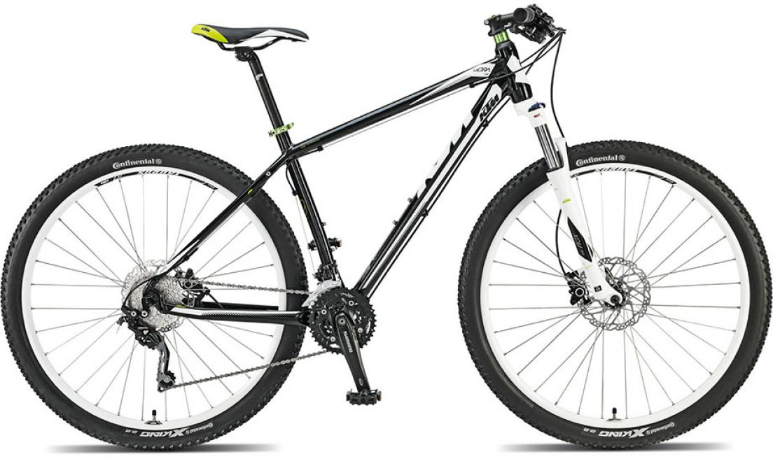 Велосипед горный KTM Ultra Fun 29 2015, цвет: черный, рама 21, колесо 29. 251423251423