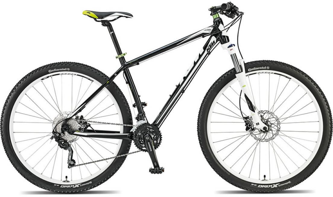 Велосипед горный KTM Ultra Fun 29 2015, цвет: черный, рама 17, колесо 29. 251424251424