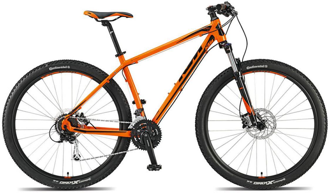 Велосипед горный KTM Ultra One 29 2015, цвет: оранжевый, рама 21, колесо 29251429