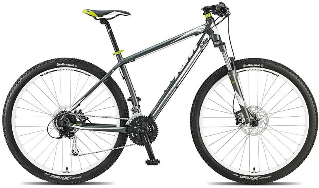 Велосипед горный KTM Ultra One 29 2015, цвет: серый, рама 19, колесо 29251431