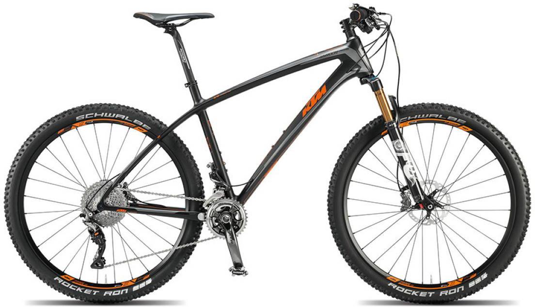 Велосипед горный KTM Myroon 27 Prestige 22s 2015, цвет: черный, рама 21, колесо 27,5251440