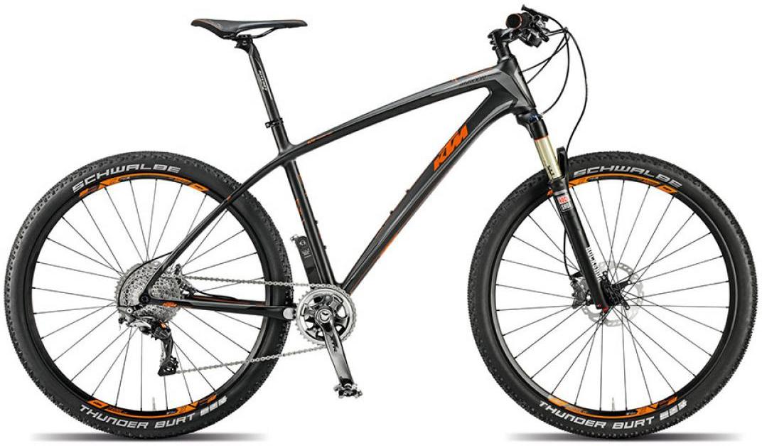 Велосипед горный KTM Myroon 27 Prestige 11s 2015, цвет: черный, рама 21, колесо 27,5251444