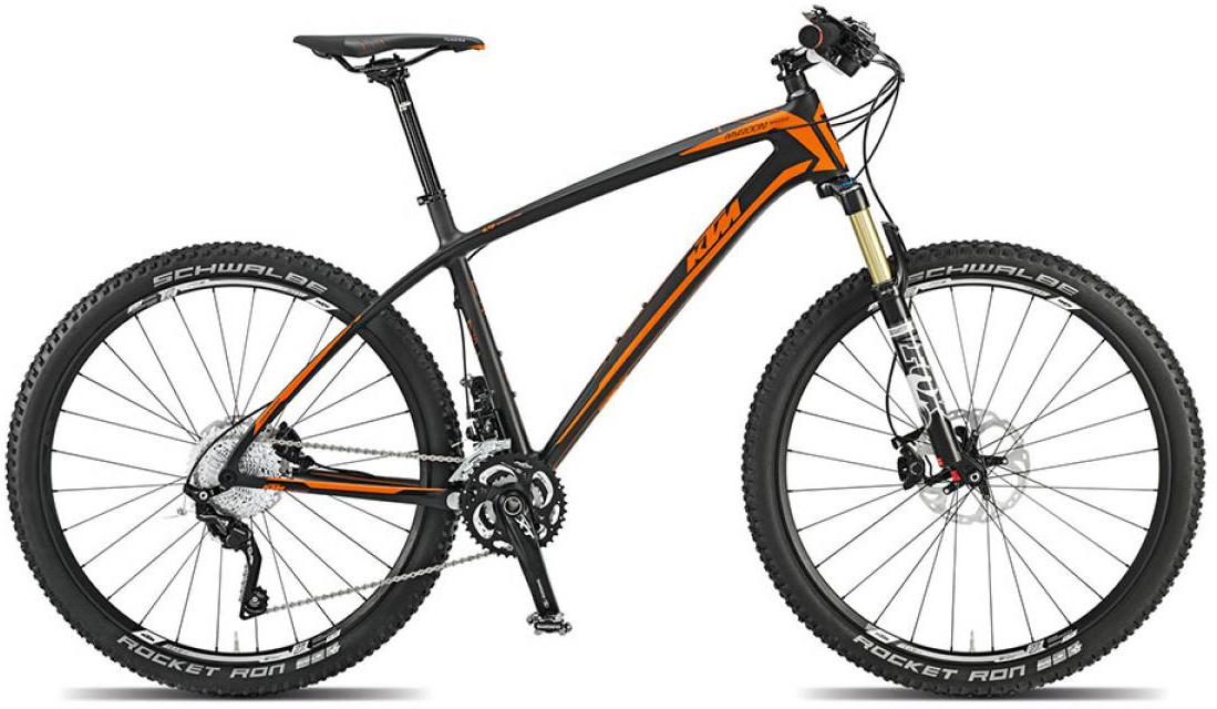 Велосипед горный KTM Myroon 27 Master 2015, цвет: черный, рама 17, колесо 27,5251454