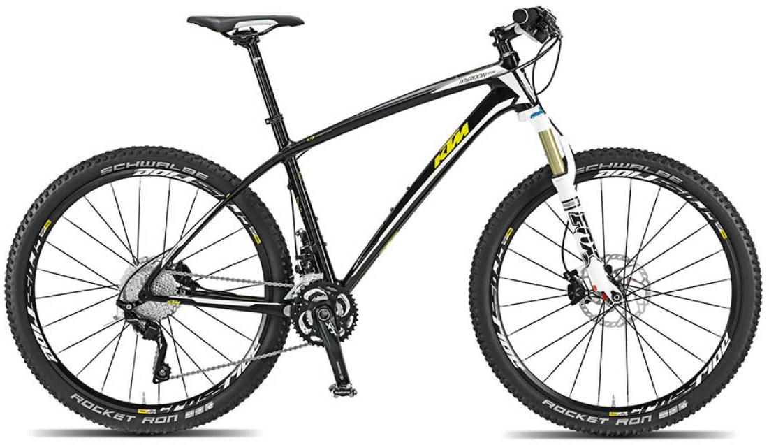 Велосипед горный KTM Myroon 27 Elite 2015, цвет: черный, рама 21, колесо 27,5251460