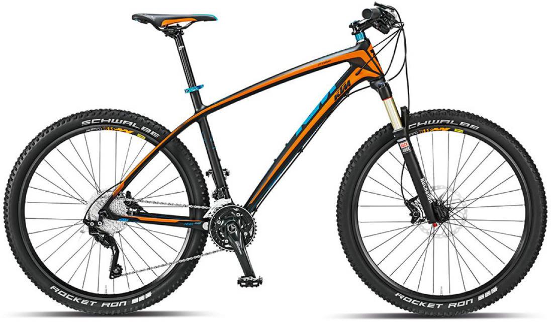 Велосипед горный KTM Aera 27 Comp 2015, цвет: черный, рама 17, колесо 27,5251466