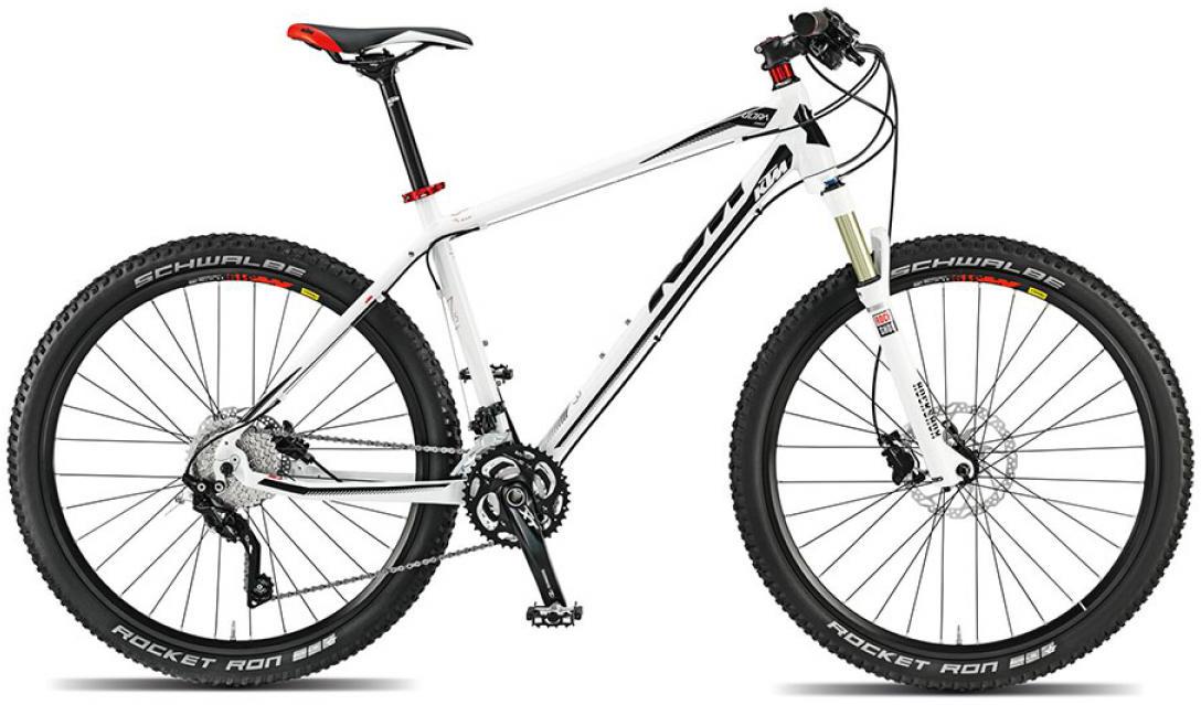 Велосипед горный KTM Ultra Force 27 2015, цвет: белый, рама 17, колесо 27,5251478