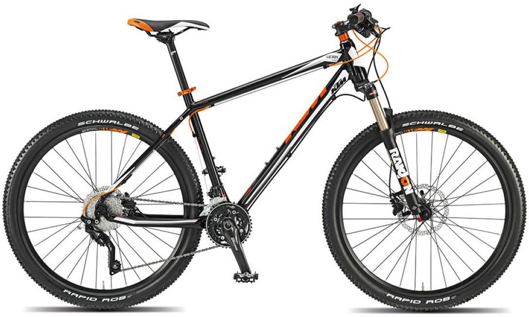 Велосипед горный KTM Ultra Sport 27 2015, цвет: черный, рама 19, колесо 27,5251488