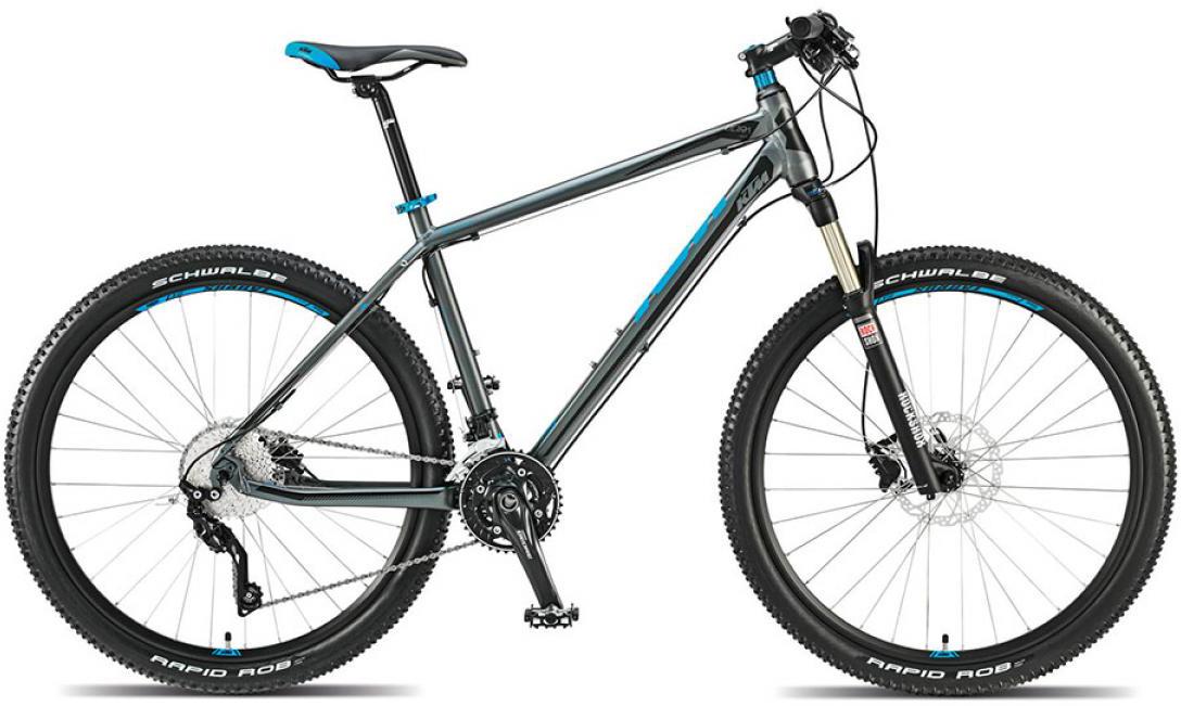 Велосипед горный KTM Ultra Flite 27 2015, цвет: серый, рама 19, колесо 27,5251492