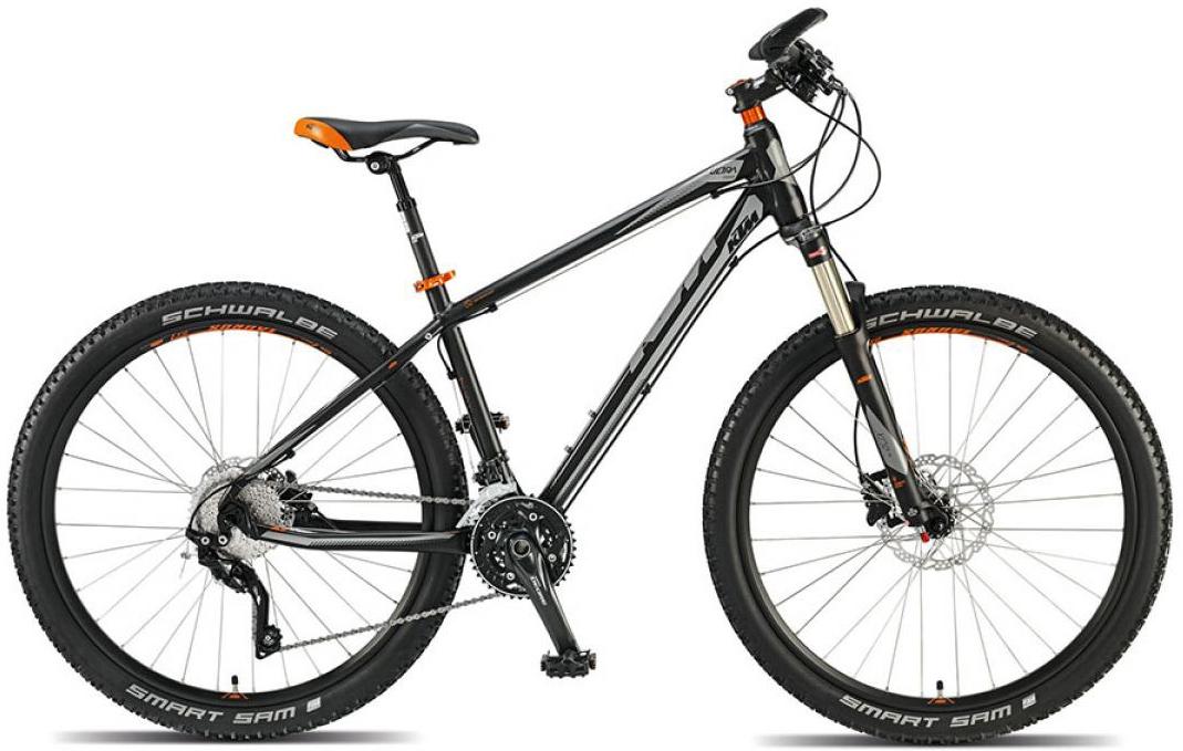 Велосипед горный KTM Ultra Cross 27 2015, цвет: черный, рама 16,5, колесо 27,5251498