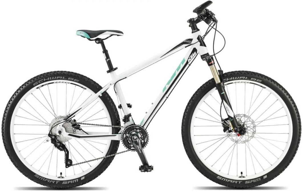 Велосипед женский KTM Baggy Sue 27 2015, цвет: белый, рама 16,5, колесо 27,5251502