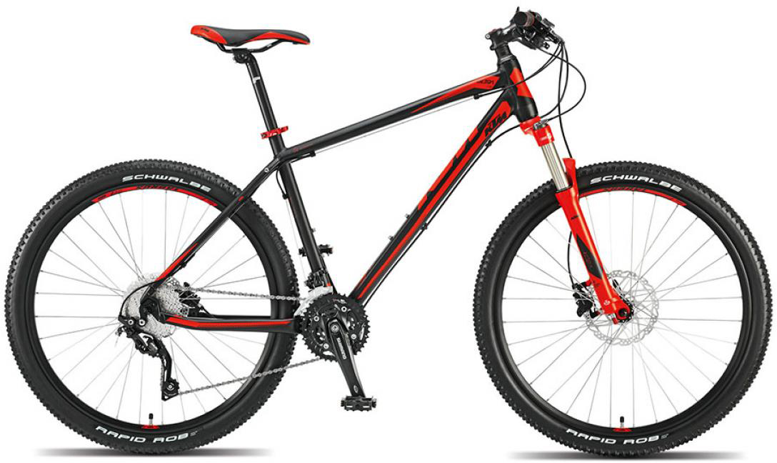 Велосипед горный KTM Ultra Fire 27 2015, цвет: красный, рама 19, колесо 27,5251506